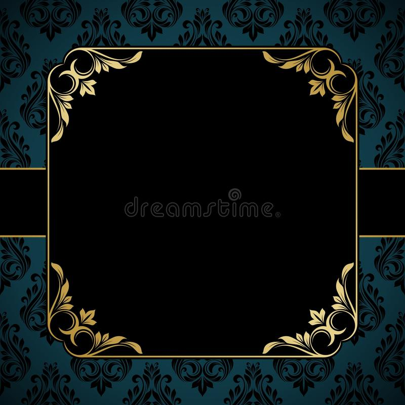Download Invitation card. stock vector. Illustration of abstract - 39514717