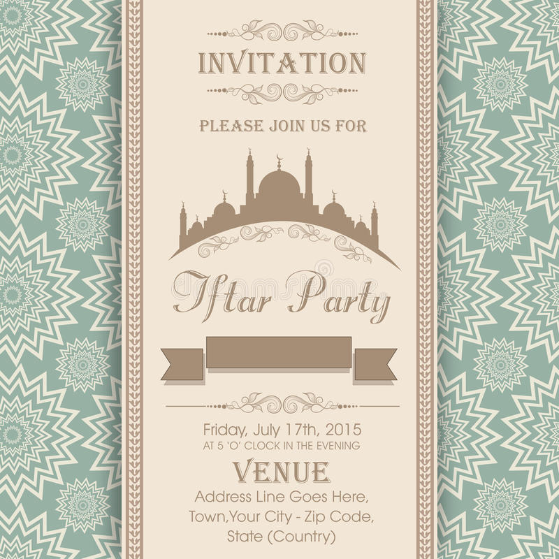 Invitation card for holy month ramadan kareem iftar party stock download invitation card for holy month ramadan kareem iftar party stock illustration illustration of stopboris Gallery