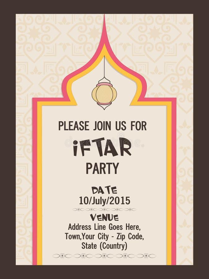 Invitation card for ramadan kareem iftar party celebration stock download invitation card for ramadan kareem iftar party celebration stock illustration illustration of delicious stopboris Choice Image