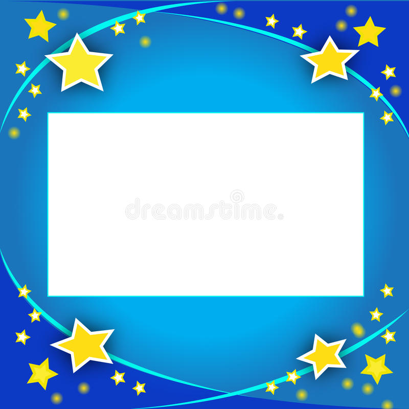 Download Invitation Card With Stars Royalty Free Stock Photography - Image: 11767027