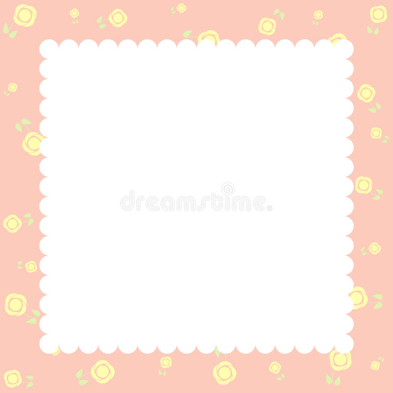 Invitation or Congratulation Card vector illustration