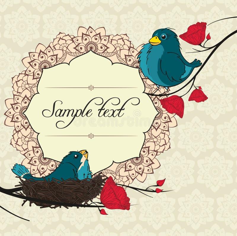 Download Invitation de mariage illustration de vecteur. Illustration du événement - 76075147