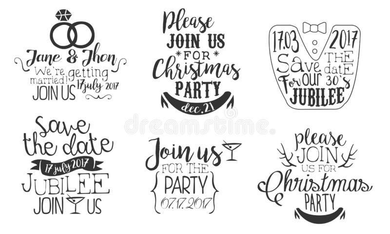 Christmas Save The Date Clipart.Christmas Date Party Save Stock Illustrations 1 094