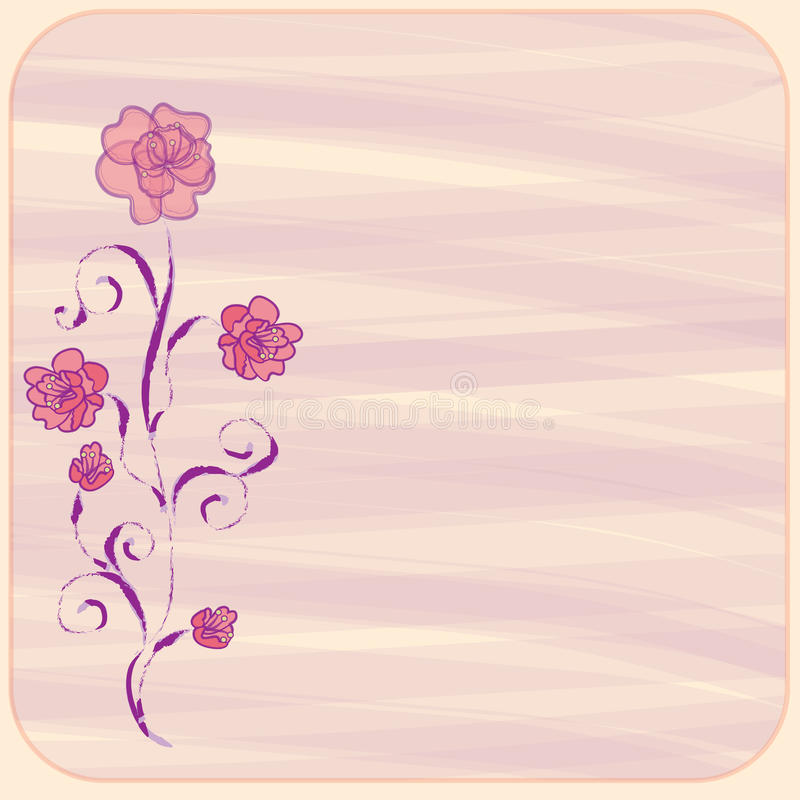 Download Invitation Floral Card Stock Photos - Image: 19170813