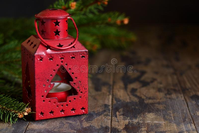 invitation new year 抽象空白背景圣诞节黑暗的装饰设计模式红色的星形 Klassichesky圣诞节 免版税图库摄影