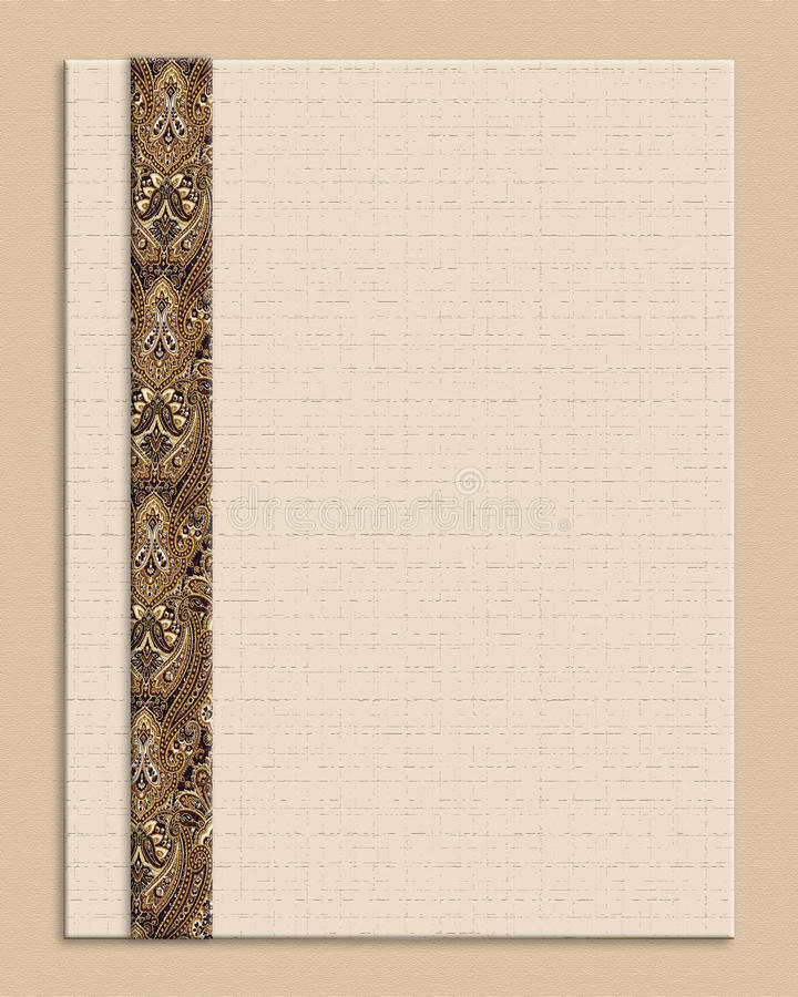 Download Invitation tan background stock illustration. Illustration of invitation - 18533318