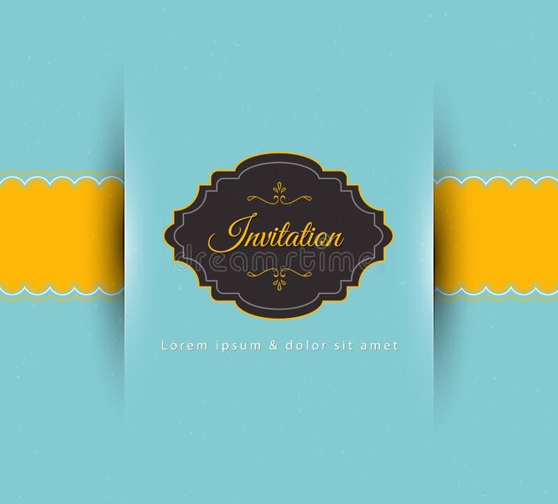 Invitation stock illustration