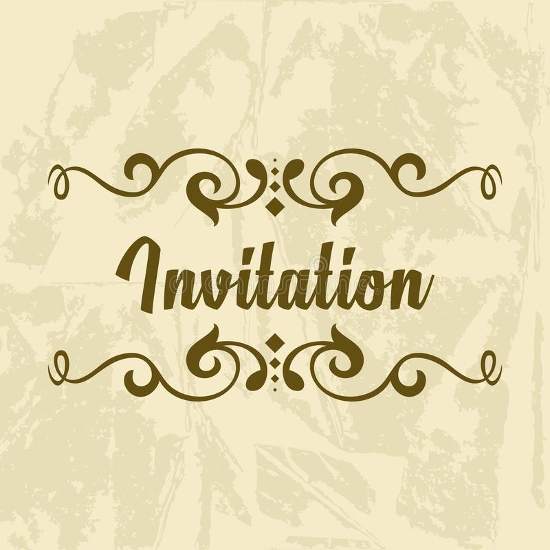 Invitation vector template stock vector illustration of beauty download invitation vector template stock vector illustration of beauty 62880968 stopboris Gallery