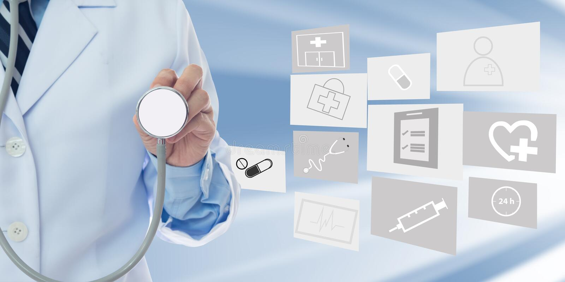 Invitato al controllo sanitario annuale fotografie stock libere da diritti