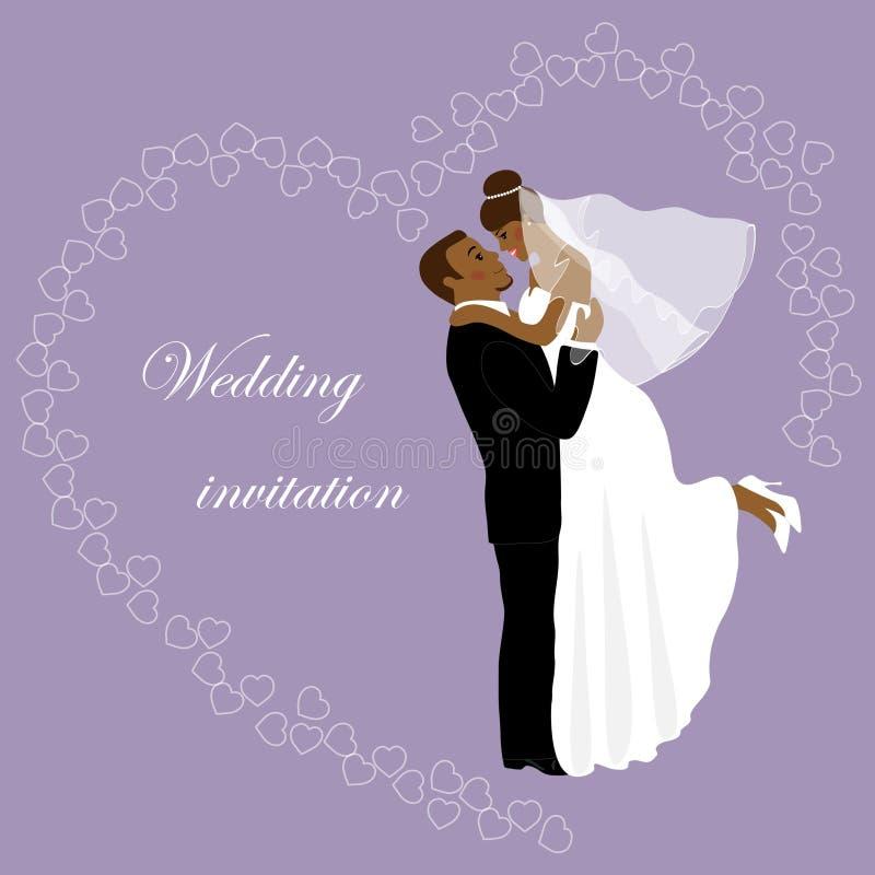 Invito 16 di nozze illustrazione di stock