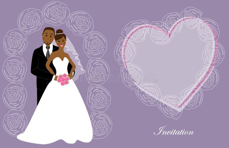 Invito 8 di nozze illustrazione di stock