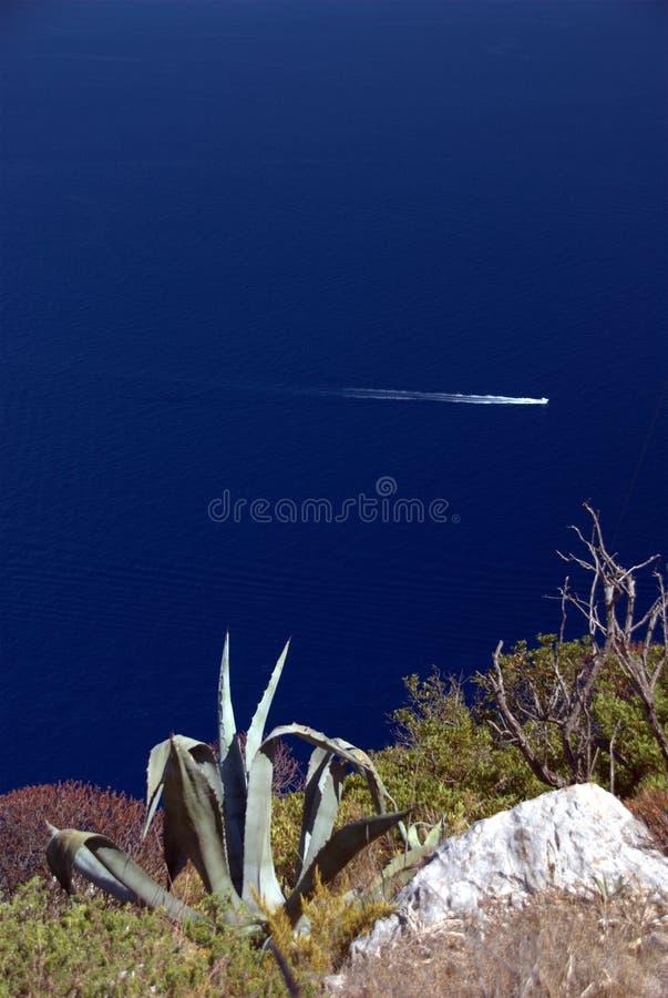 Invito Mediterraneo immagine stock