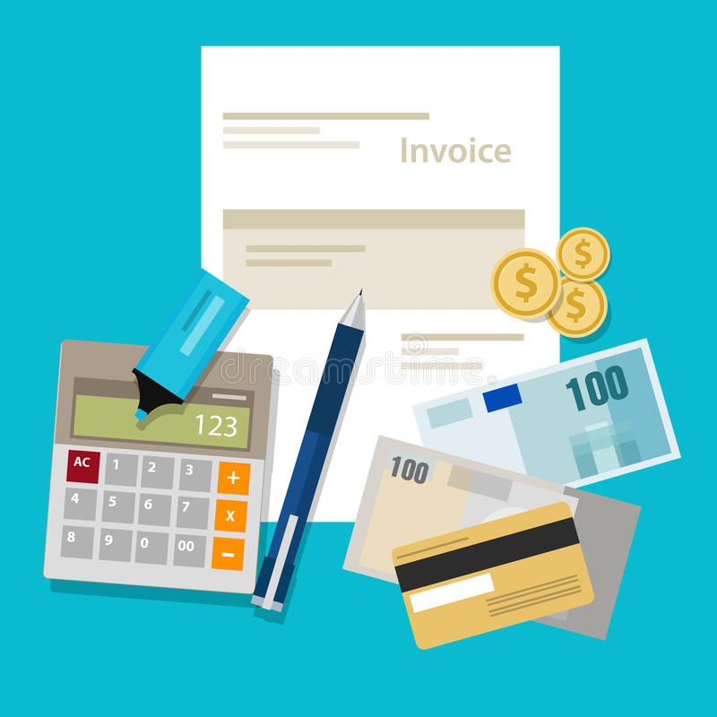Invoice Due On Receipt Invoice Invoicing Payment Money Calculator Pay Stock Vector  Tracking Number Royal Mail Receipt Excel with Neat Receipts Walmart Invoice Invoicing Payment Money Calculator Pay Returns To Toys R Us Without Receipt
