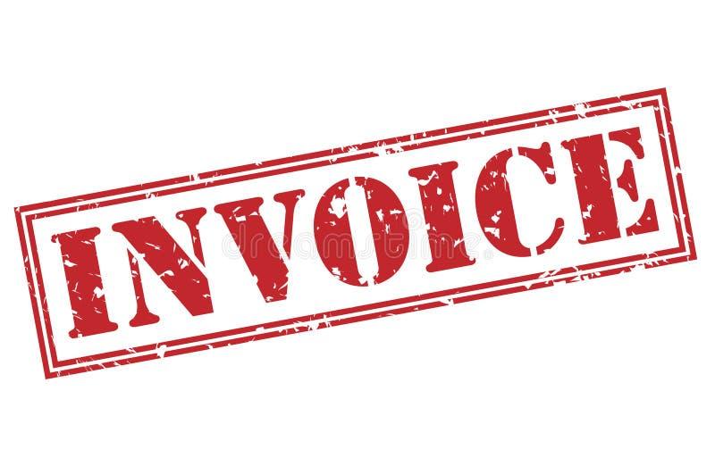 Invoice Red Stamp Stock Illustration Illustration Of Invoice - Invoice stamp