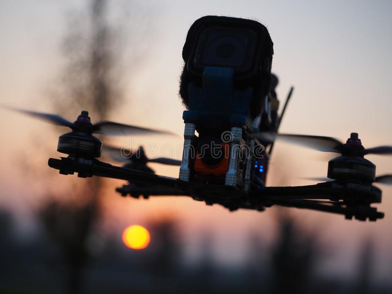 Inwazja na Drone zdjęcie royalty free