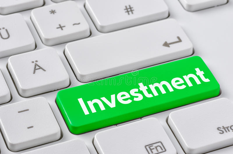 Inwestycja fotografia stock
