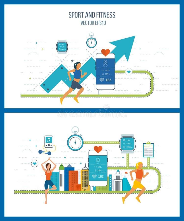 Inwestycja w edukaci Pieniężna strategia i raport Rozwój Biznesu ilustracja wektor