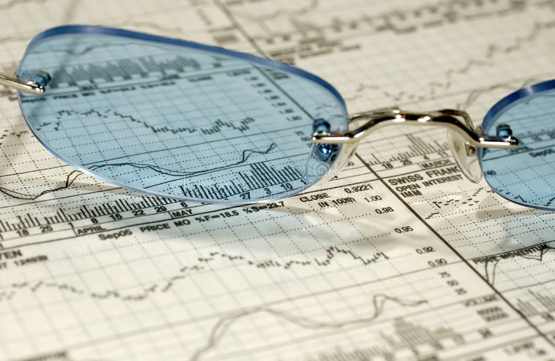 inwestycje, badania zdjęcie stock