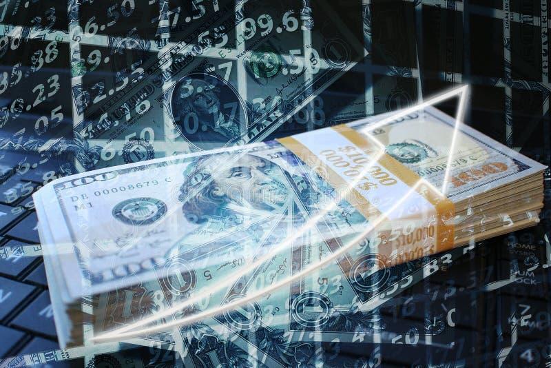 Inwestycje Wybucha W byka rynku Wysokiej Jakości obraz stock