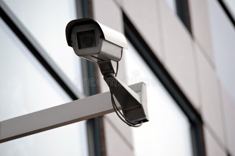 Inwigilacja, kamera bezpieczeństwa, monitorowanie, CCTV zdjęcie stock
