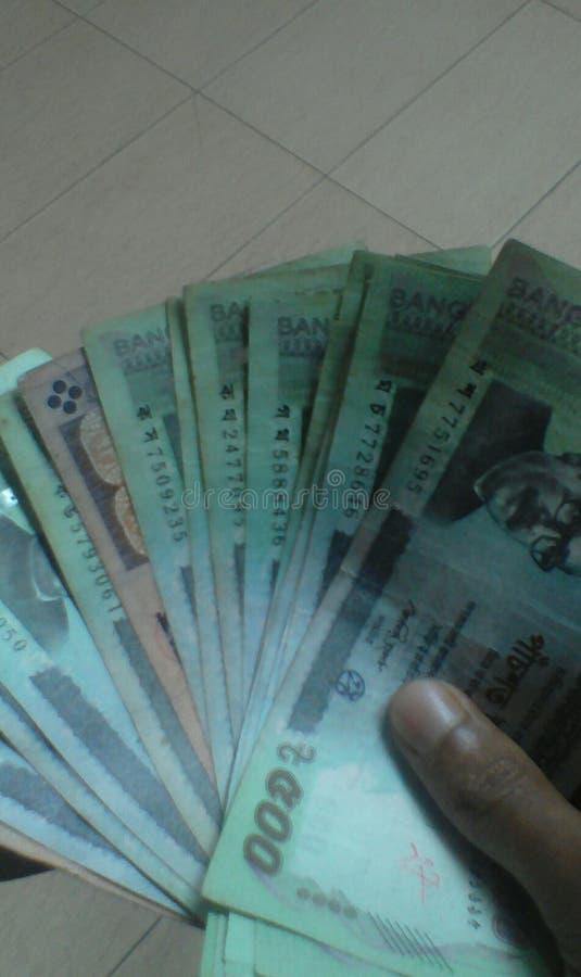 Inwoner van Bangladesh geld stock afbeelding