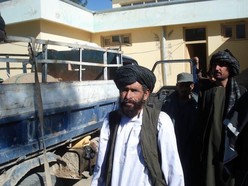 Inwoners van Afghanistan stock fotografie