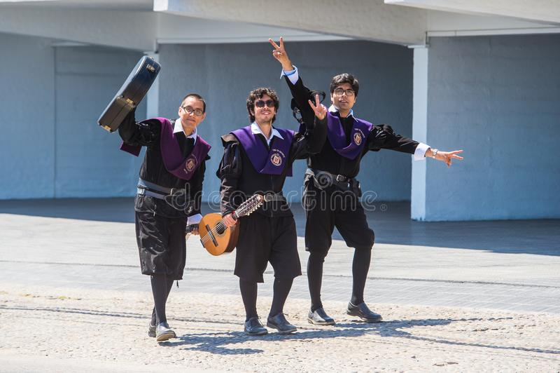 Inwoners van Chili royalty-vrije stock foto's