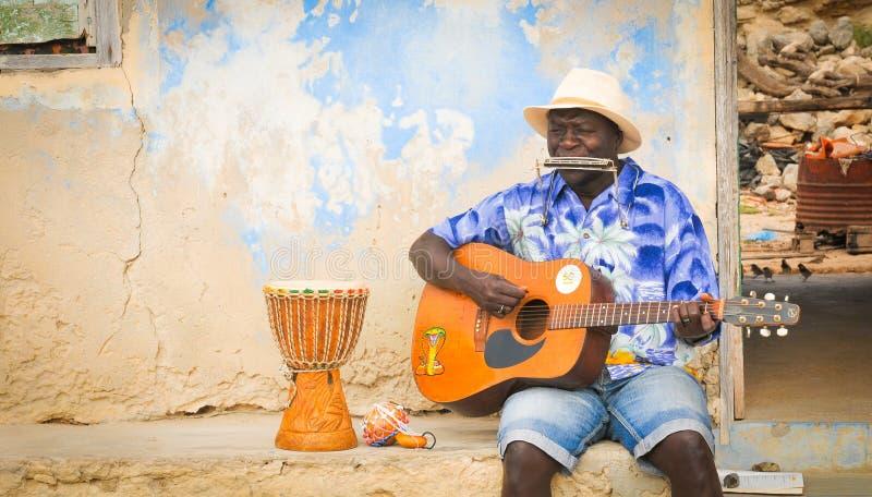 Inwoners van Kaapverdië, Afrika royalty-vrije stock foto's