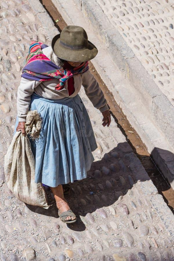 Inwoners van Peru royalty-vrije stock afbeelding