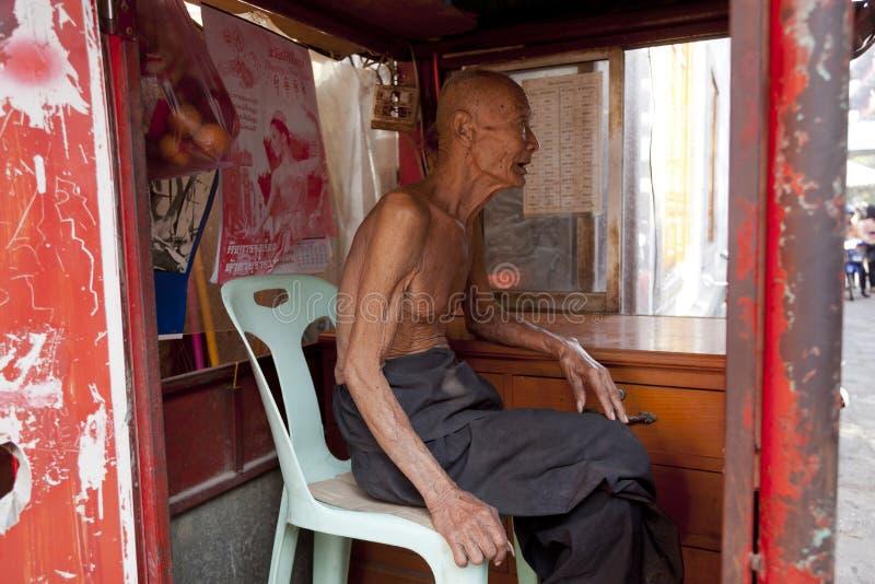 Inwoners van Thailand stock foto's