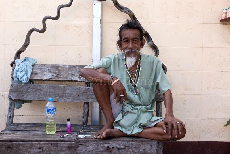Inwoners van Thailand stock foto