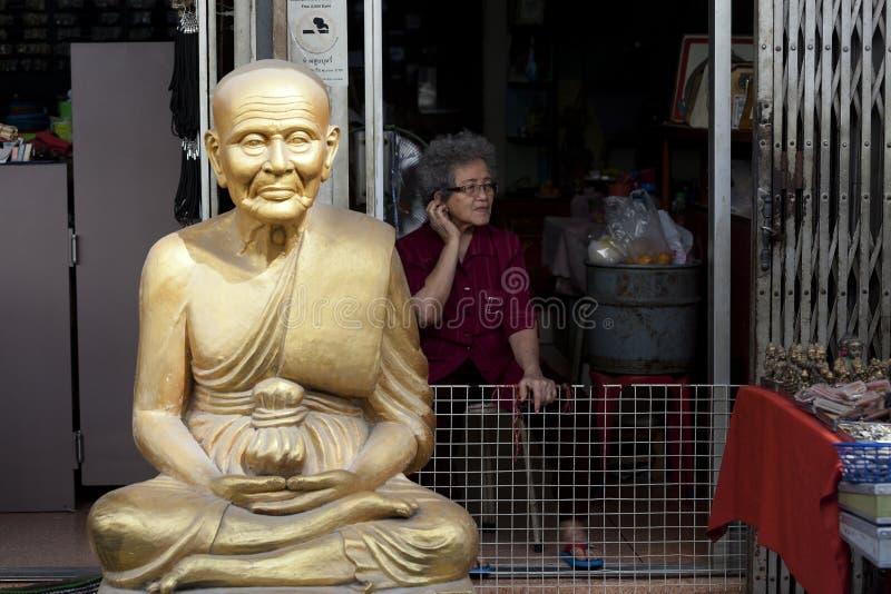 Inwoners van Thailand royalty-vrije stock afbeelding