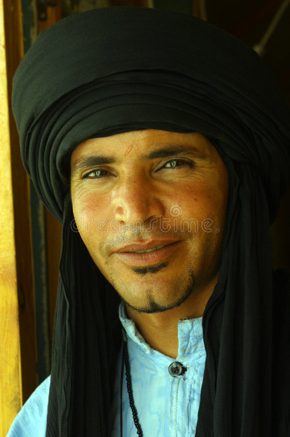 Inwoners van Tunesië stock foto's
