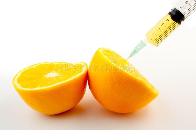Inyección de vitaminas imagen de archivo