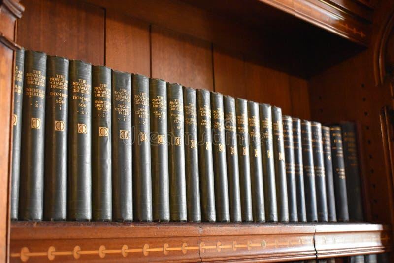 Inzameling van Charles Dickens Novels royalty-vrije stock foto