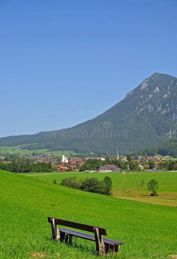 Inzell,Bavaria,Germany stock photo