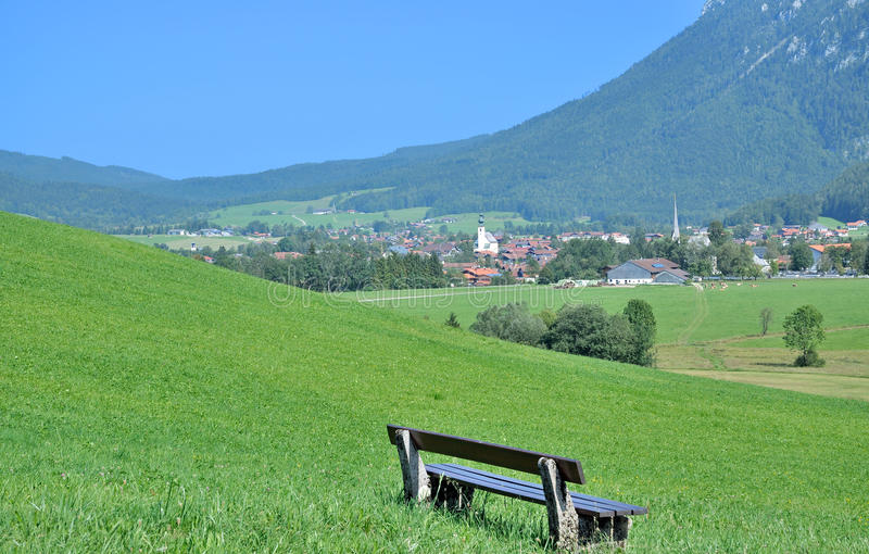 Inzell,Chiemgau,Bavaria,Germany stock image