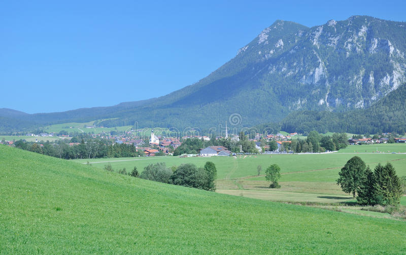Inzell,Chiemgau,bavarian Alps,Bavaria,Germany royalty free stock photography