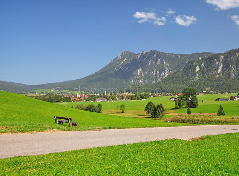 Inzell,Upper Bavaria,Germany royalty free stock photo