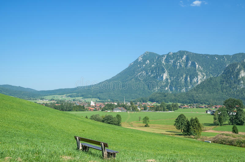 Inzell,Upper Bavaria,Germany stock photo