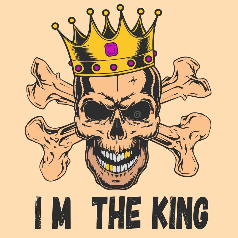 Io m. il re illustrazione vettoriale