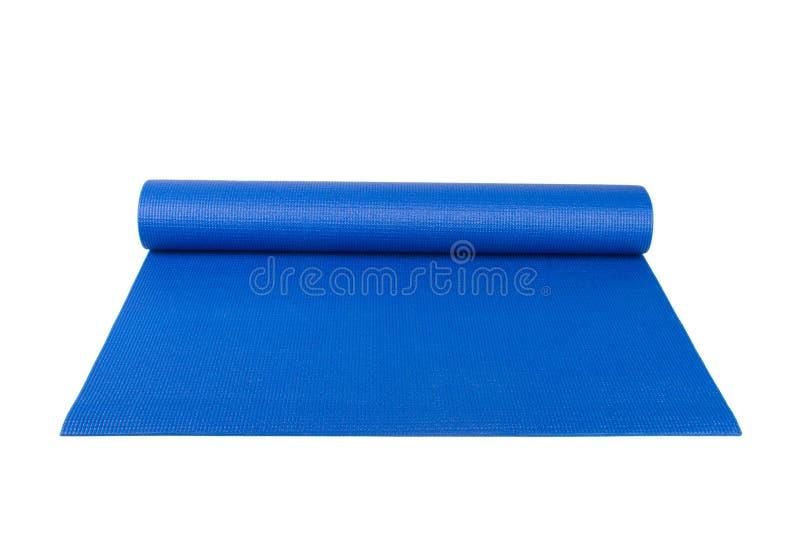 Ioga Pilates ou esteira da aptidão para o exercício imagem de stock