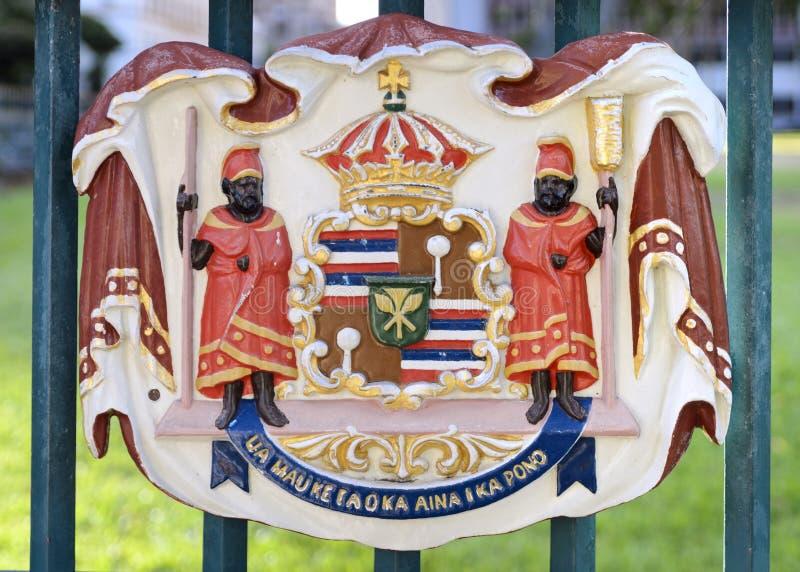 iolani pałac foka obraz royalty free