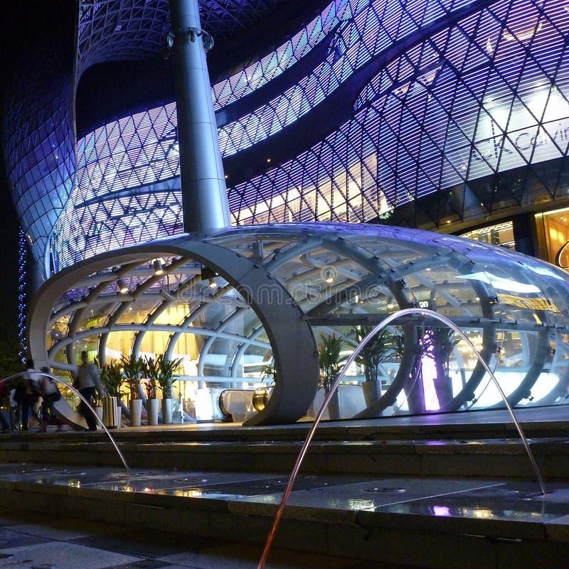 Ion Building, Singapur imagen de archivo