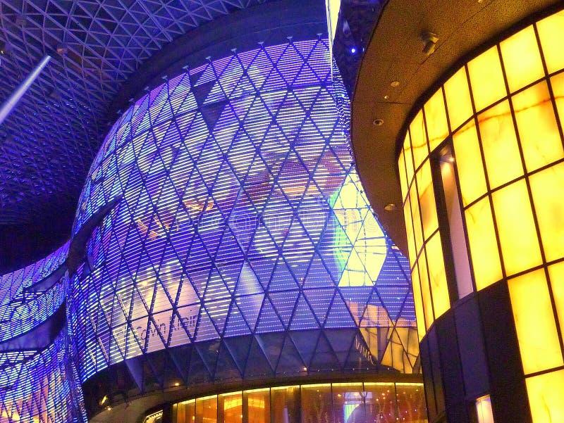 Ion Building, Singapur imágenes de archivo libres de regalías