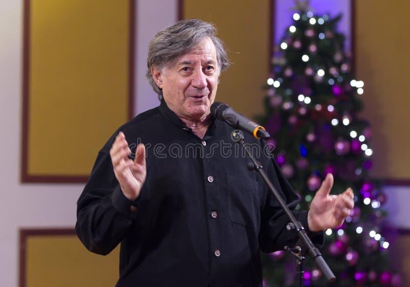Ion Caramitru foto de archivo libre de regalías
