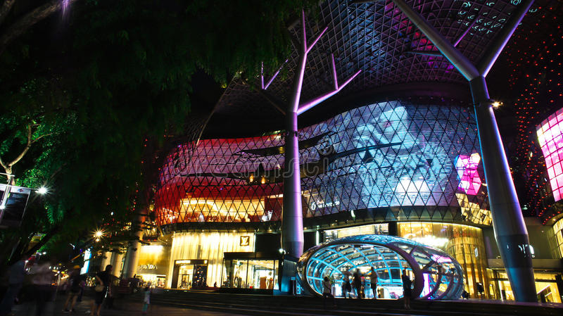 Download Ion Mall in the evening editorial image. Image of singapore - 20140295