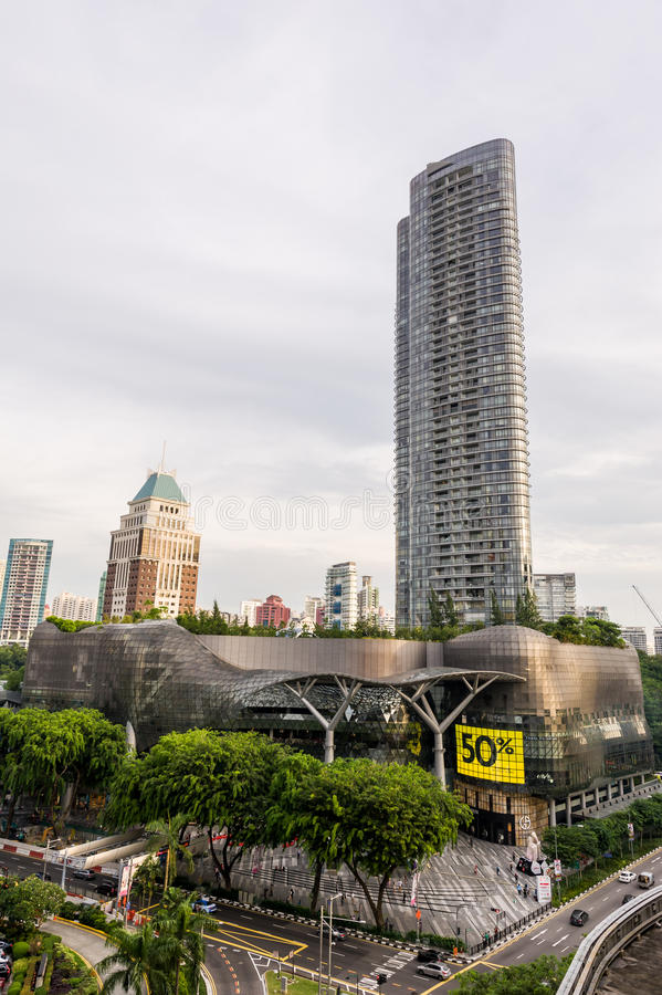 ION Orchard along Orchard Road, Singapore royalty free stock photography