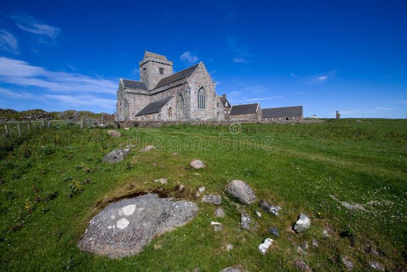 Download Iona Abbey stock photo. Image of hebrides, benedictine - 20950254