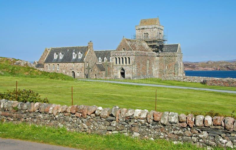 Download Iona Abbey stock photo. Image of religion, history, scottish - 25136516